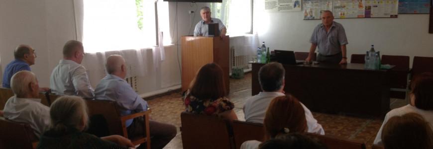 Выездная научно - практическая конференция в ГБУ РД Бабаюртовская ЦРБ